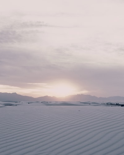 White Sands National Park New Mexico