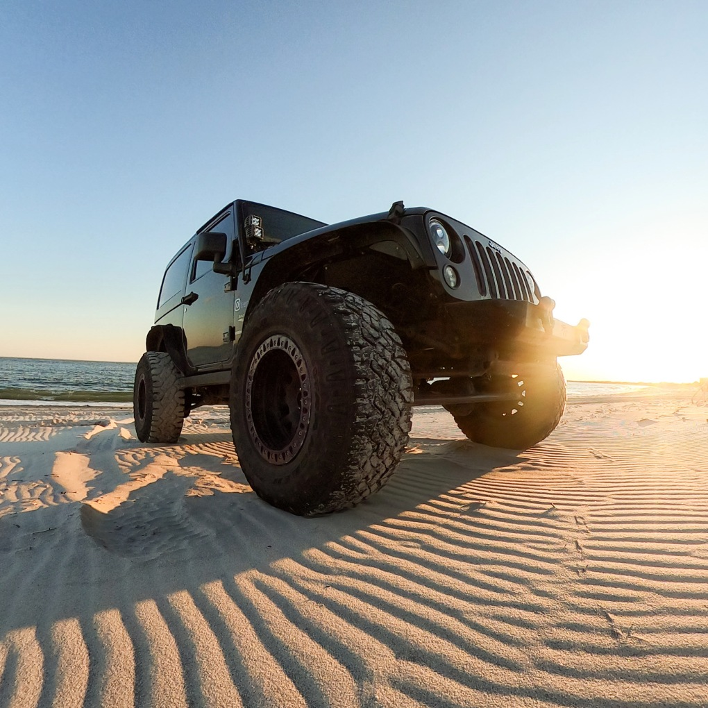 Driving Your Car on the Beach